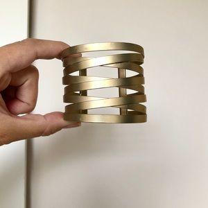 Champagne Gold Cuff Bracelet FRANCHESCAS